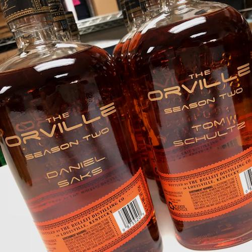 Engraved Bourbon Bottles