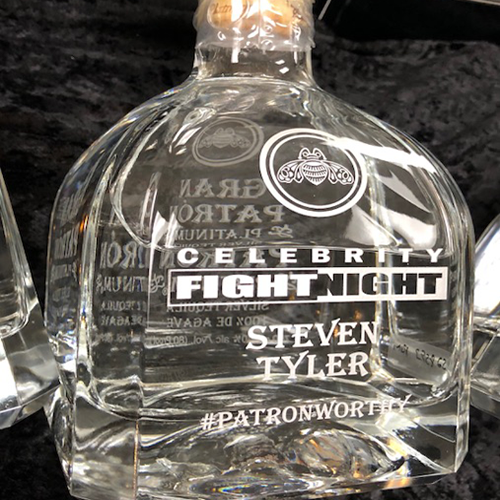 Engraved Tequila Bottles
